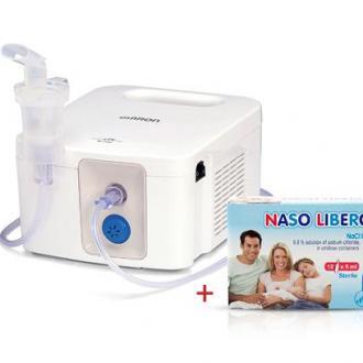 Компресорен, професионален инхалатор Omron CompAir PRO NE-C900 + ПОДАРЪК физиологичен разтвор