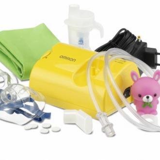 Компресорен инхалатор Omron NE-C801 за деца + ПОДАРЪК физиологичен разтвор