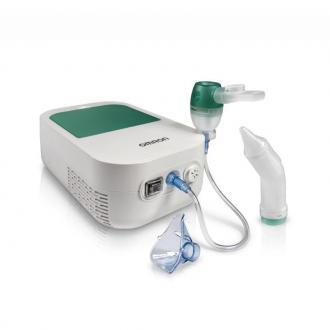 Инхалатор за бебета Omron DUOBABY NE-C301-E + ПОДАРЪК физиологичен разтвор