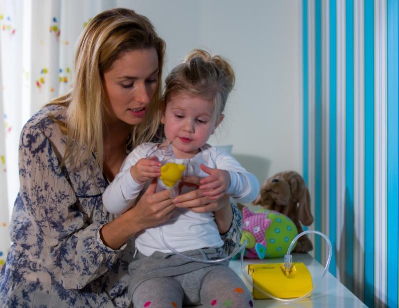 Компресорен инхалатор Omron NE-C801 за деца